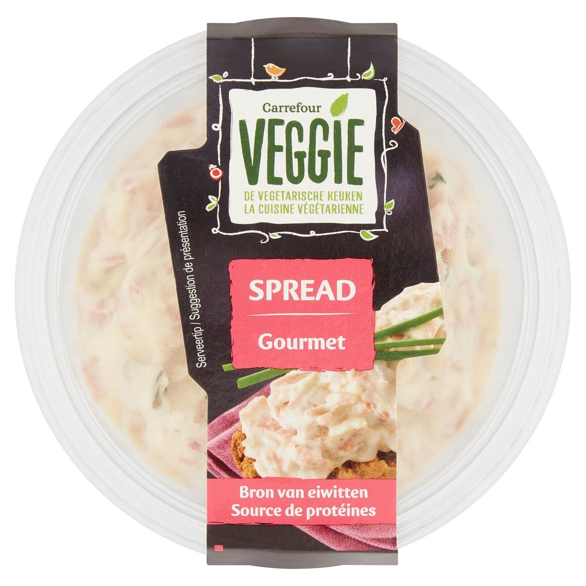 Carrefour Veggie Spread Gourmet 150 g