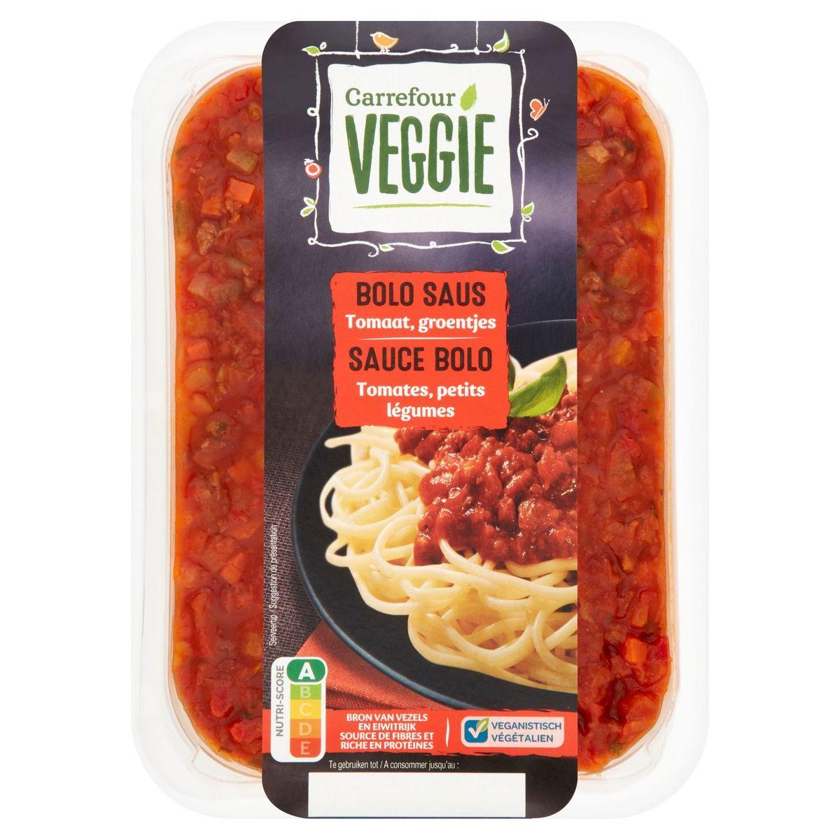 Carrefour Veggie Sauce Bolo Tomates, Petits Légumes 500 g