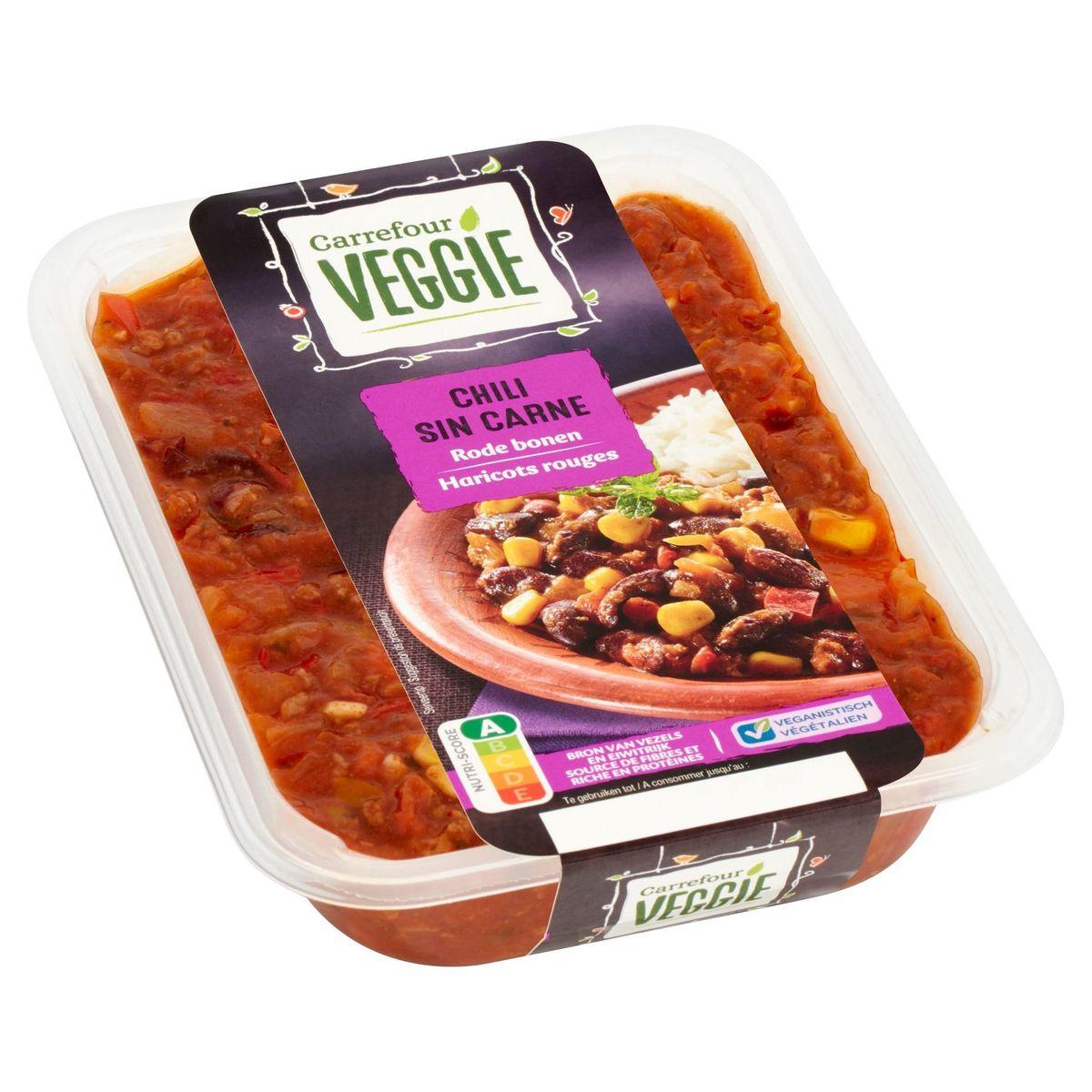 Carrefour Veggie Chili Sin Carne Rode Bonen 500 g