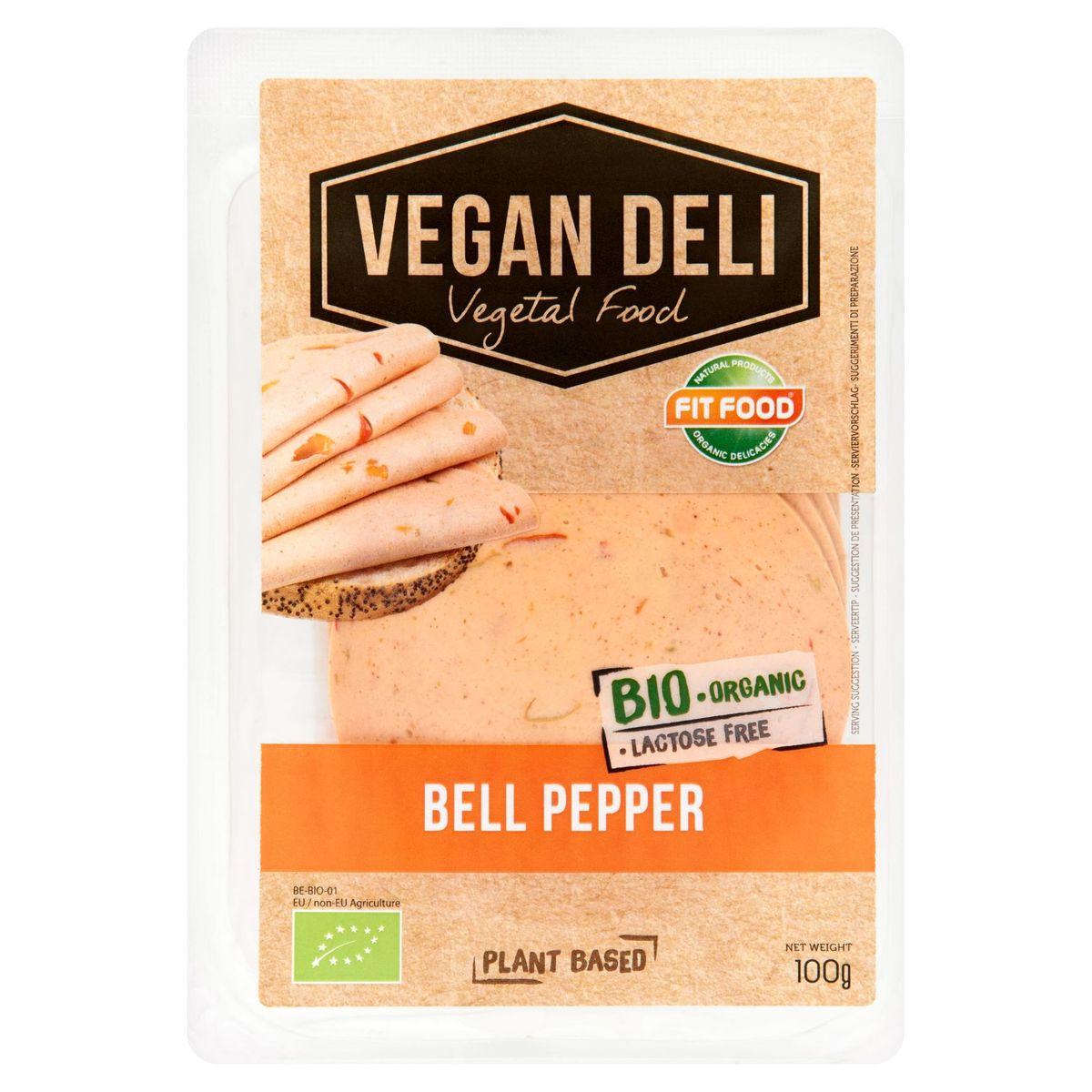 Fit Food Vegan Deli Bio Bell Pepper 100 g