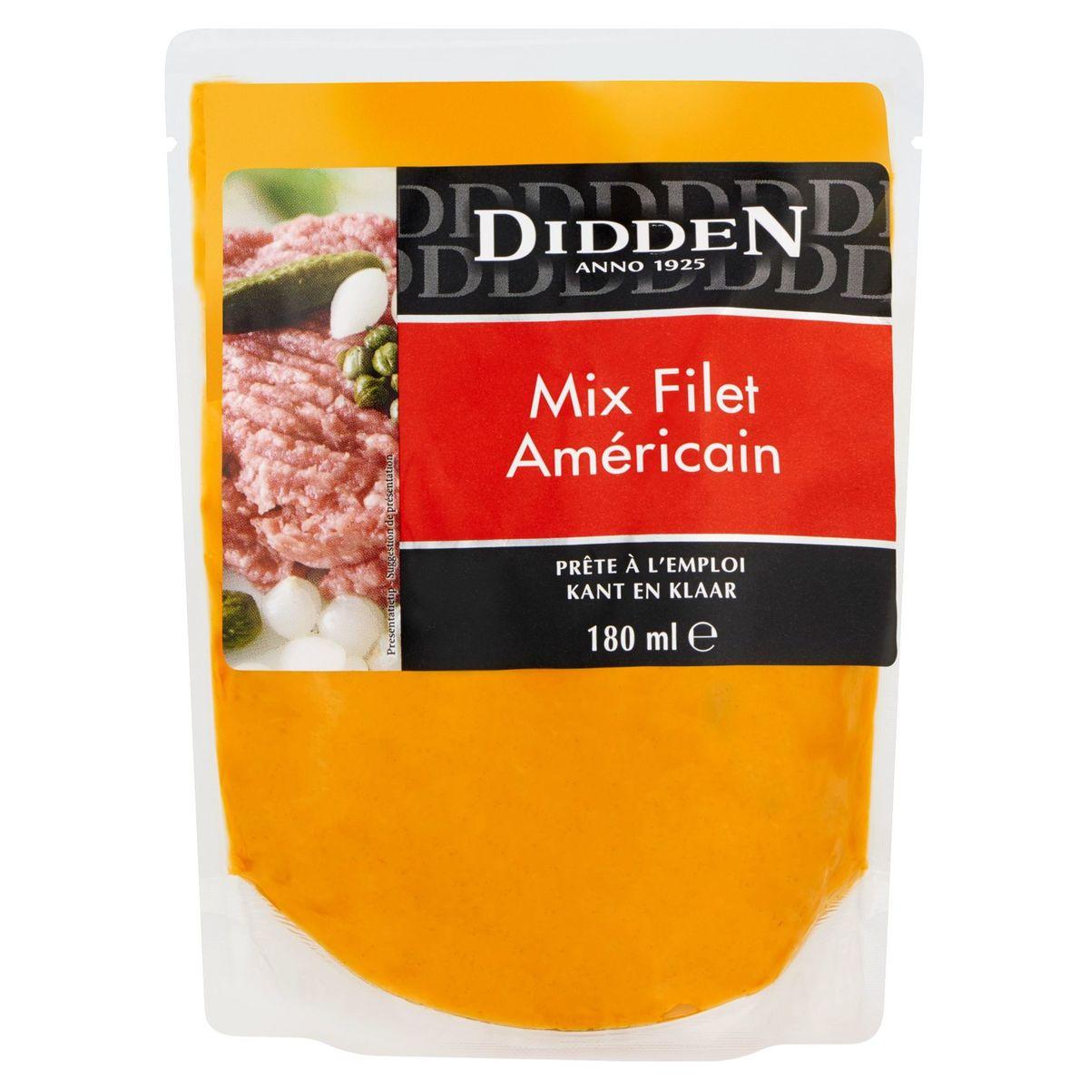 Didden Mix Filet Américain 180 ml