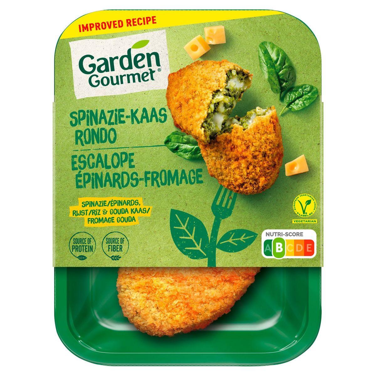 GARDEN GOURMET Vegetarische Spinazie-Kaas Rondo x2 180 g