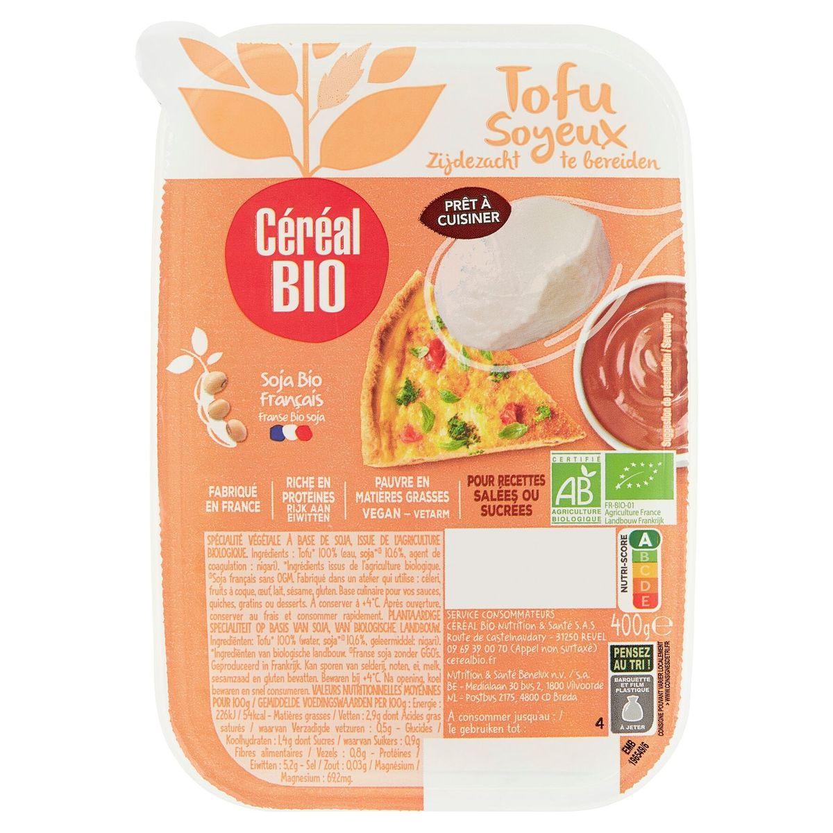 Céréal Bio Tofu Soyeux 400 g