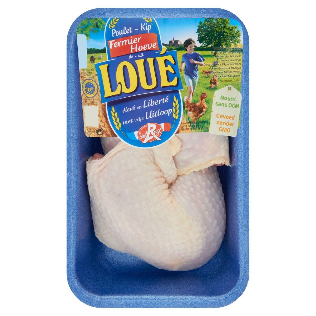Label Rouge Cuisses poulet Fermier de Loué