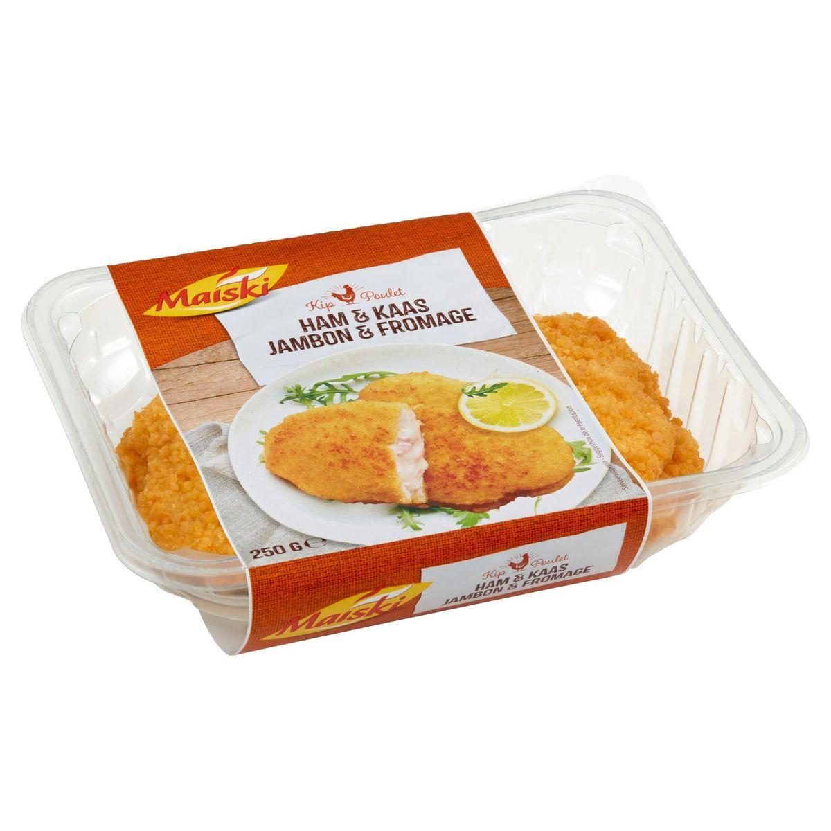 Maïski Poulet Jambon Fromage 250 g