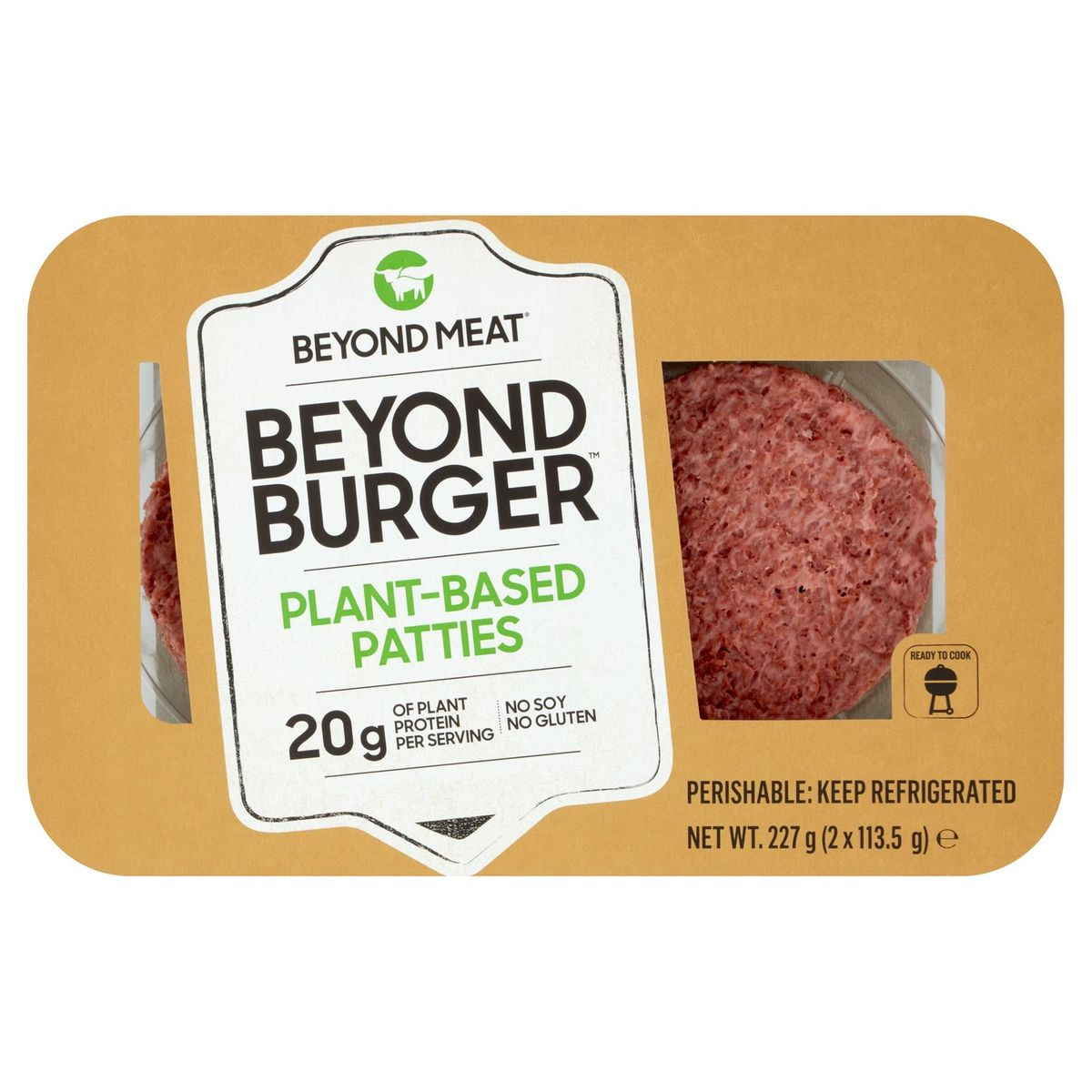 Beyond Meat Plant-Based Patties 2 x 113.5 g