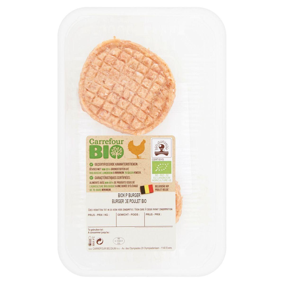 Carrefour Bio Biokip Burger