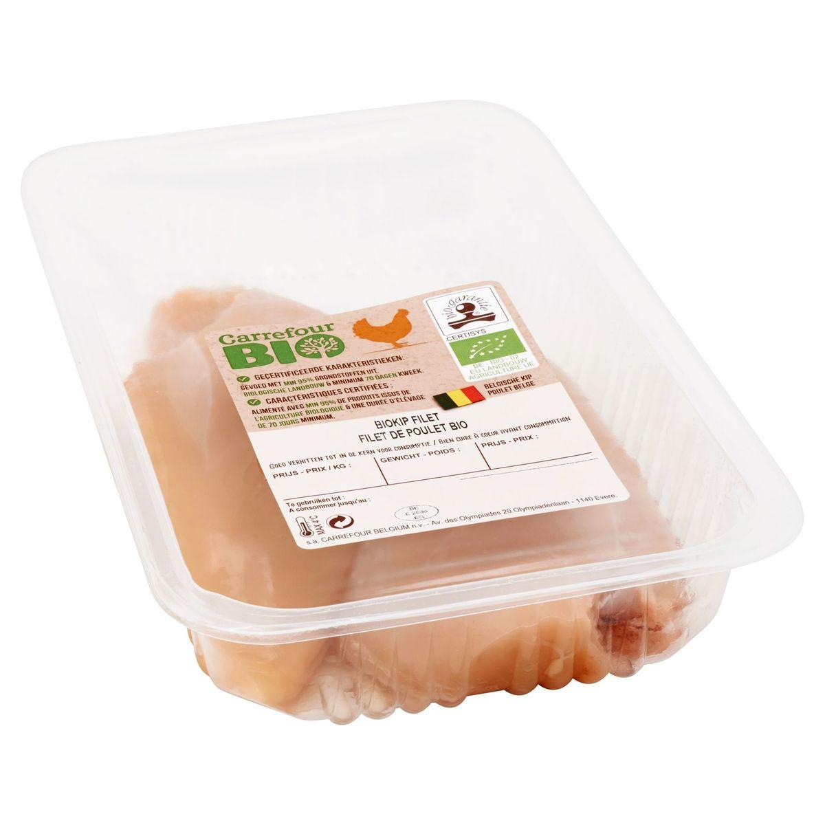 Carrefour Bio Filet de Poulet Bio 0.350 kg