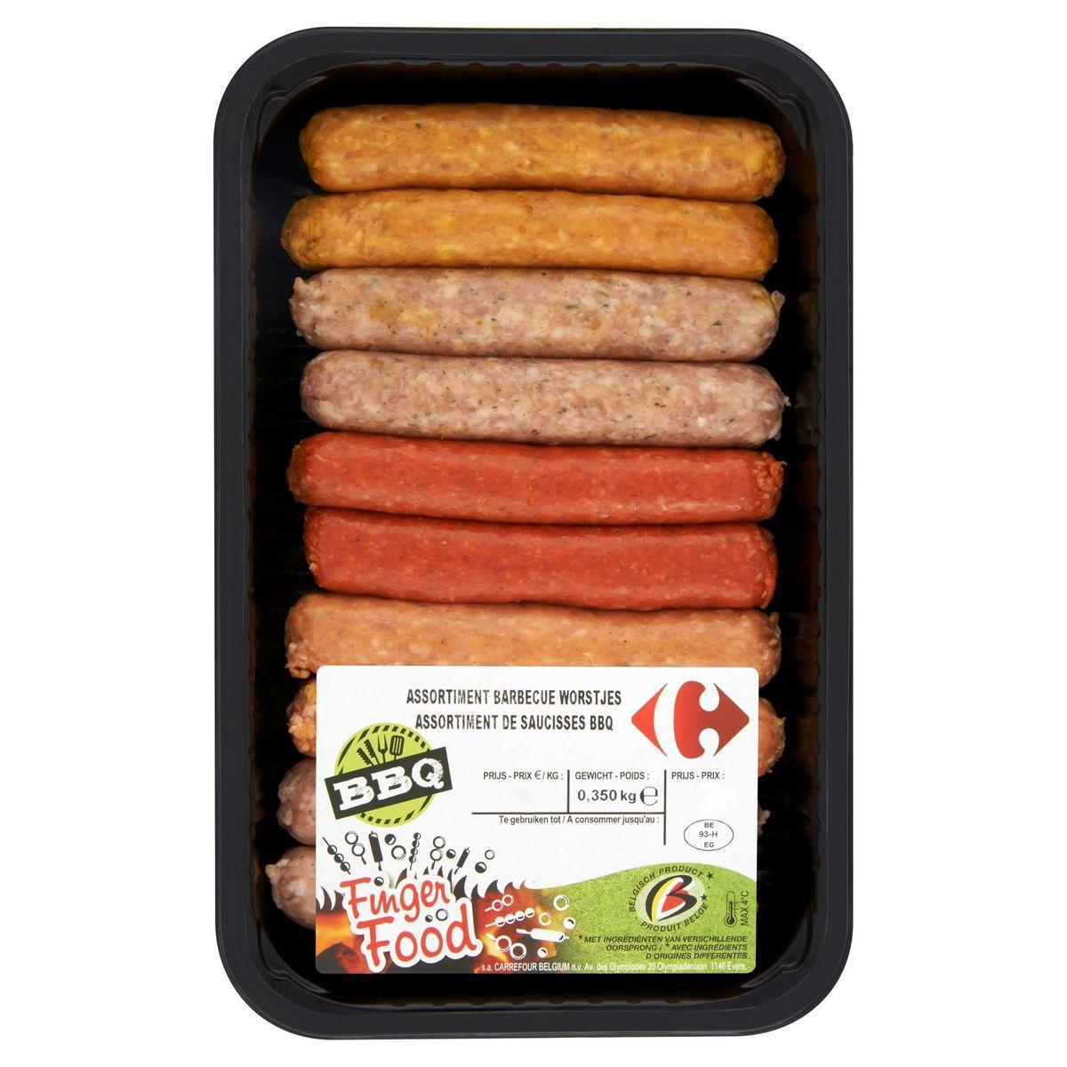 Carrefour Assortiment de Saucisses BBQ 0.350 kg