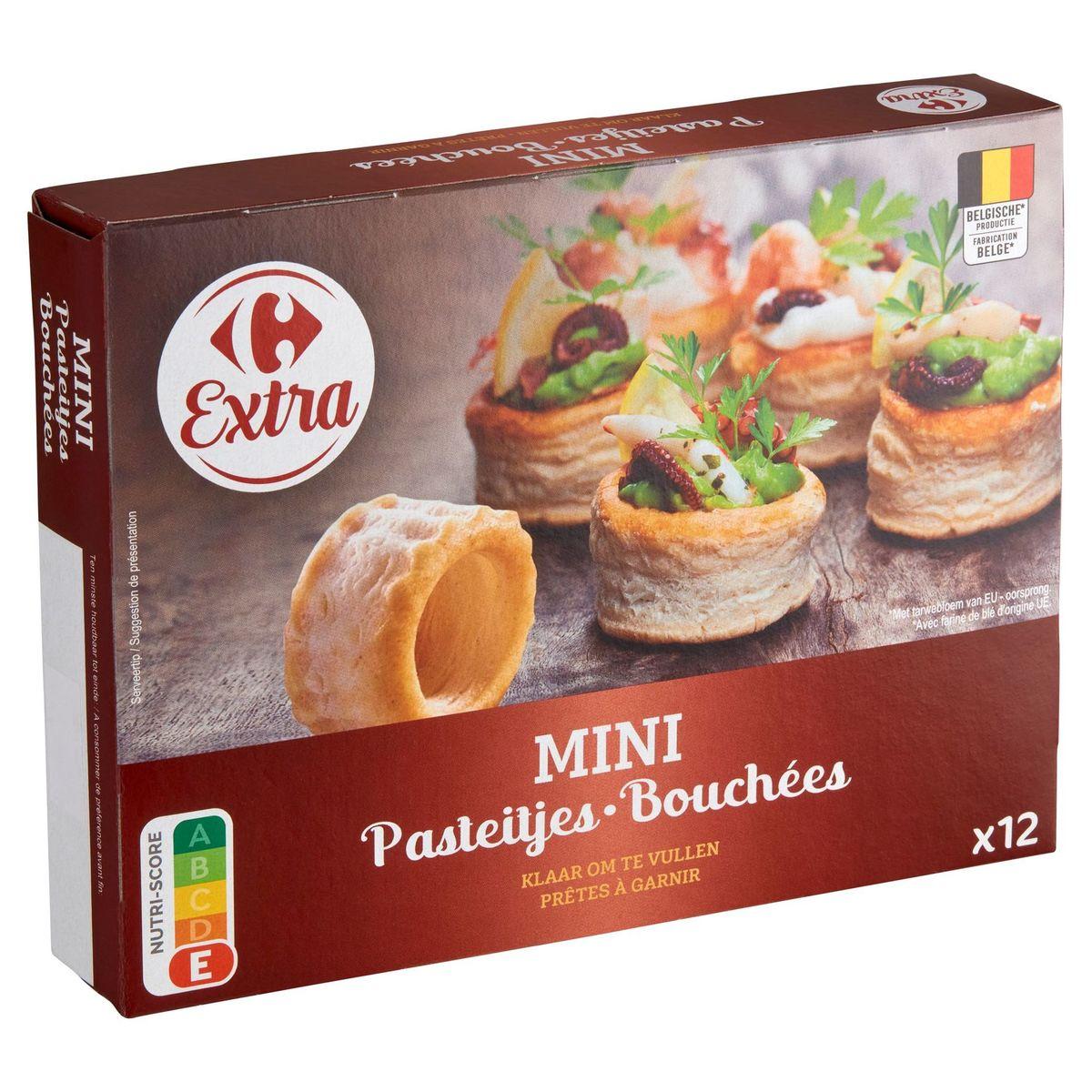 Carrefour Zakouski Pâte Feuilletée 12 Pièces 54 g