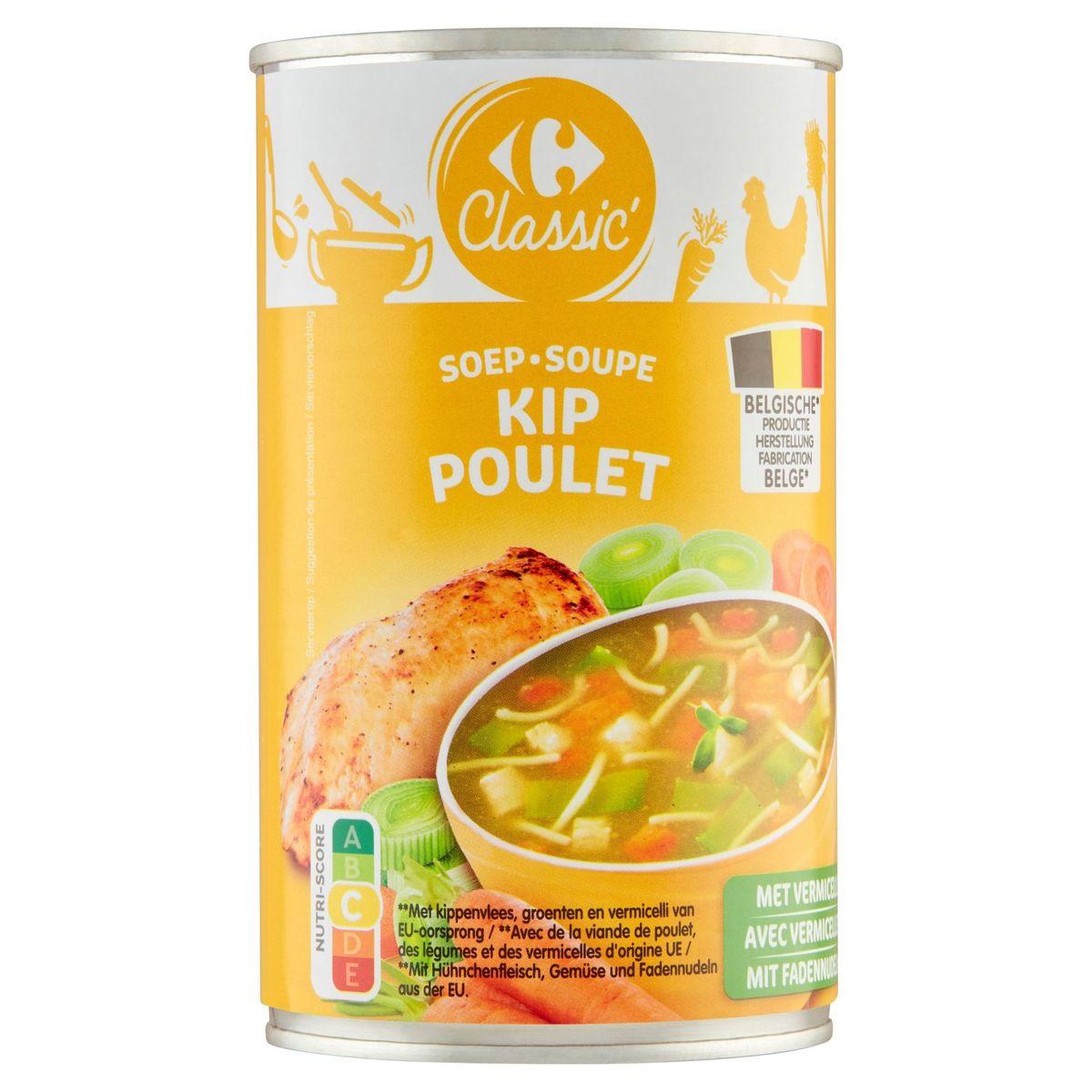 Carrefour Classic' Soupe Poulet avec Vermicelles 460 ml
