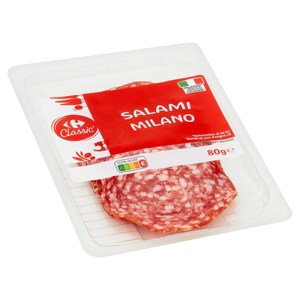 Carrefour Classic' Salami Milano 80 g