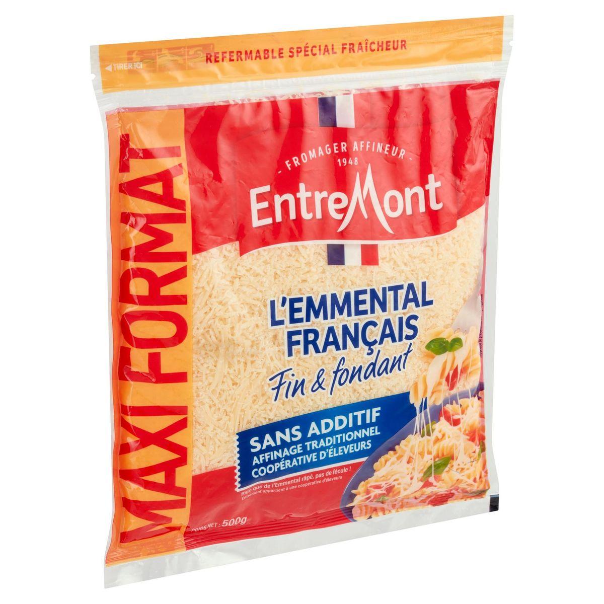 Entremont l'Emmental Français Extra Fin Maxi Format 500 g