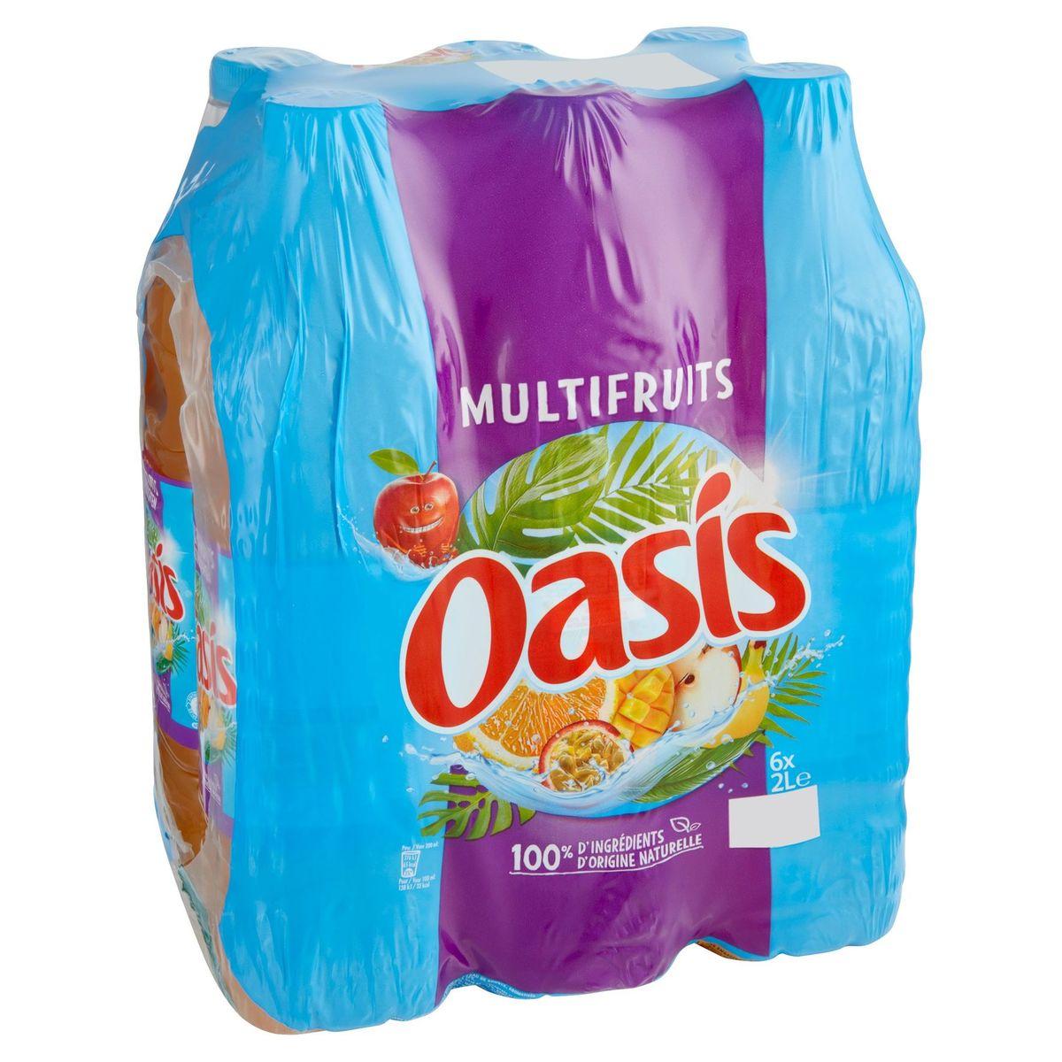 Oasis Multivruchten Family Pack 6 x 2 L