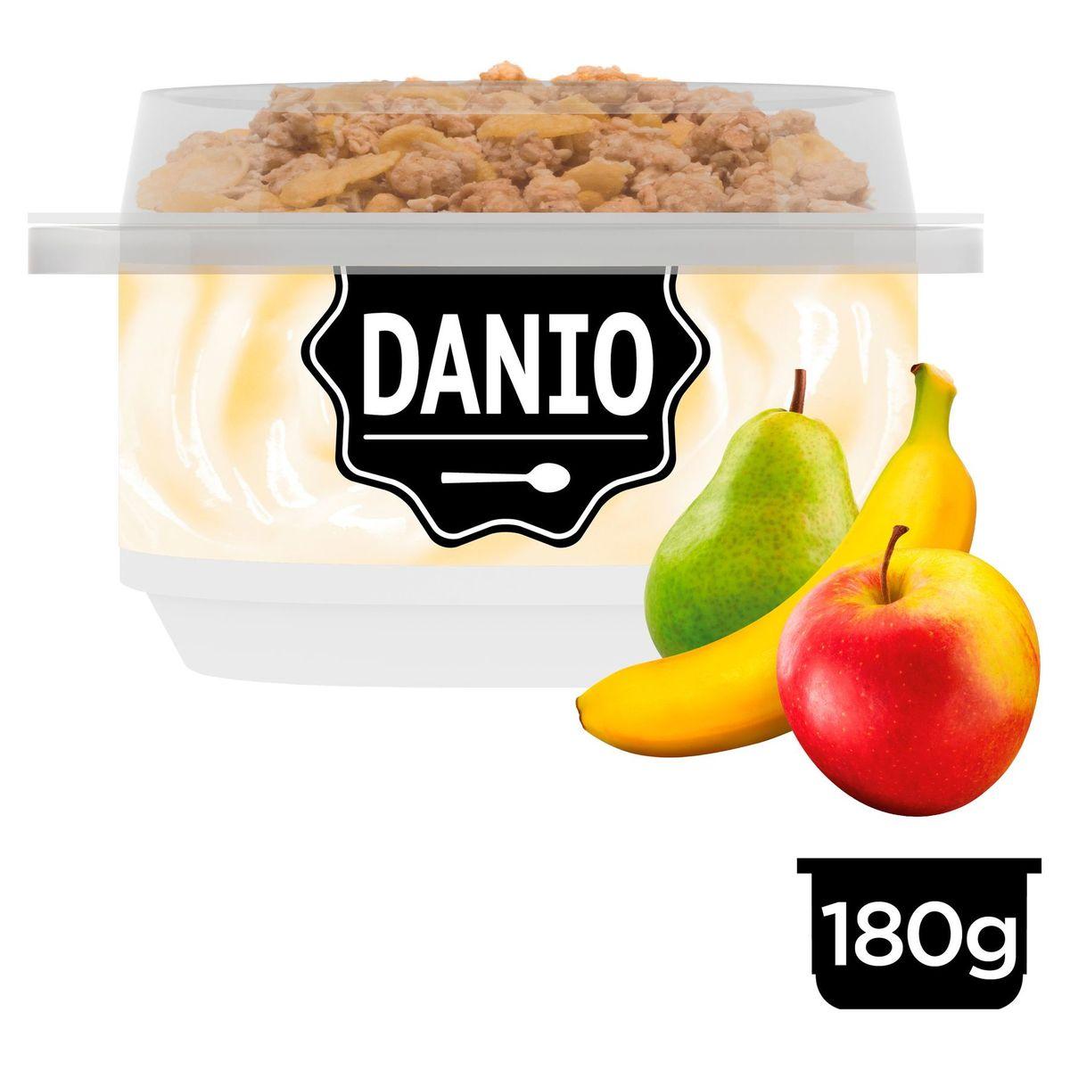 Danio Breakfast Specialiteit met Verse Kaas Peer Appel Banaan 195 g