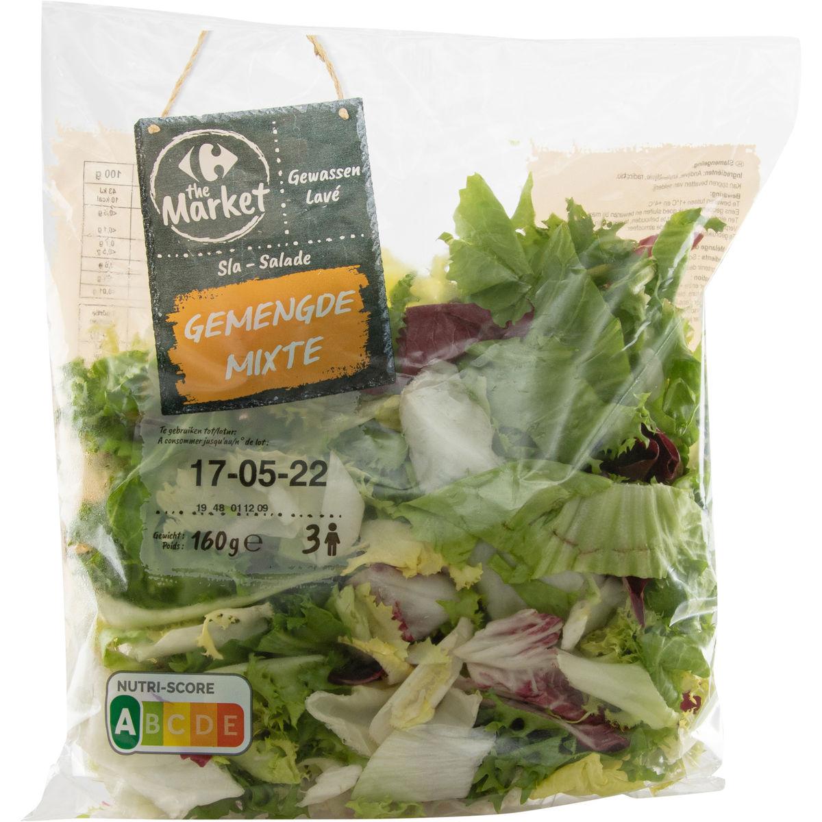 Carrefour Salade Mixte 160 g