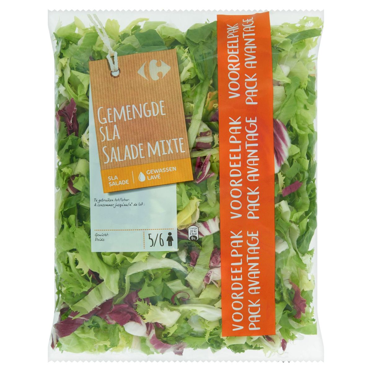 Carrefour Salade Mixte Pack Avantage 280 g