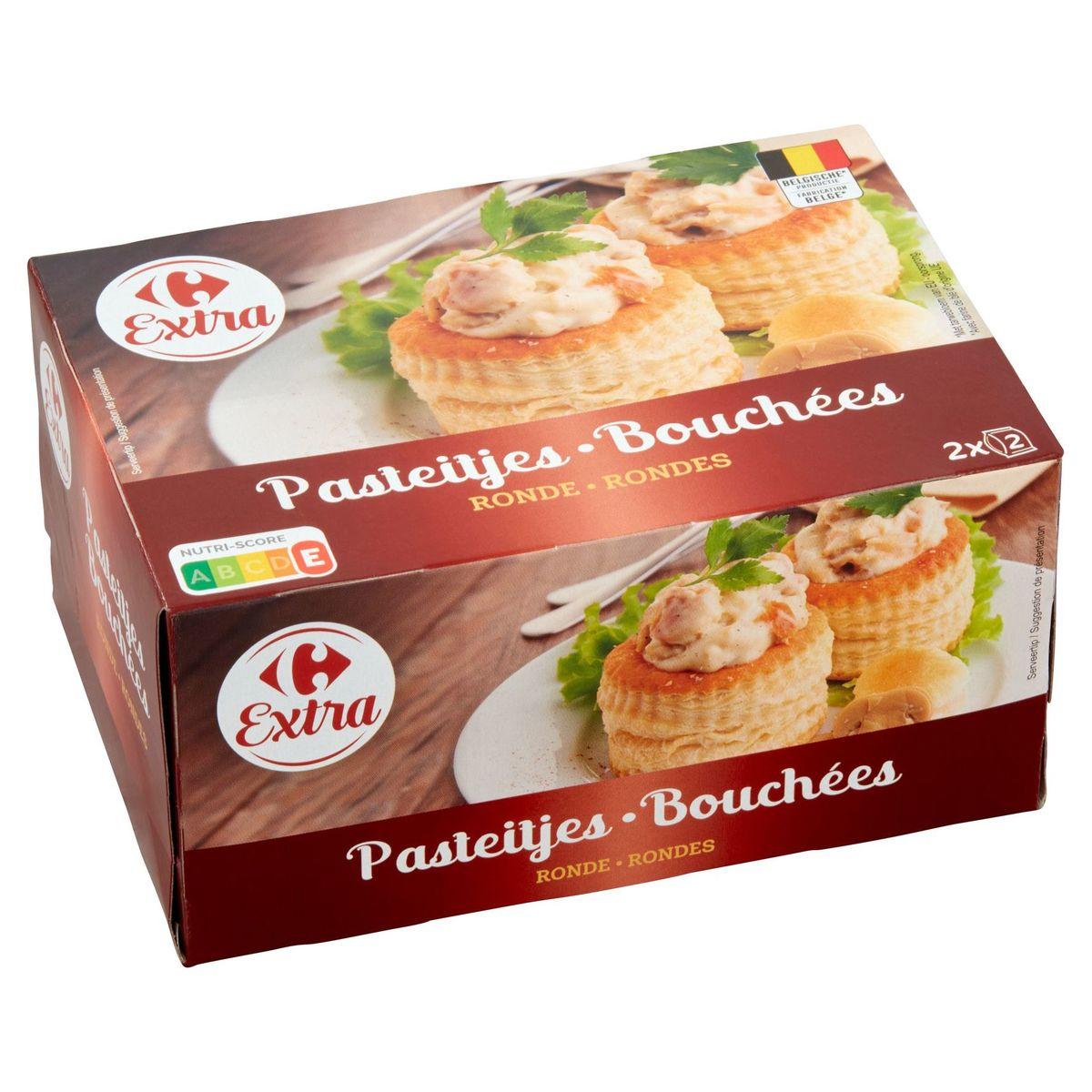 Carrefour Ronde Pasteitjes 4 Stuks 100 g