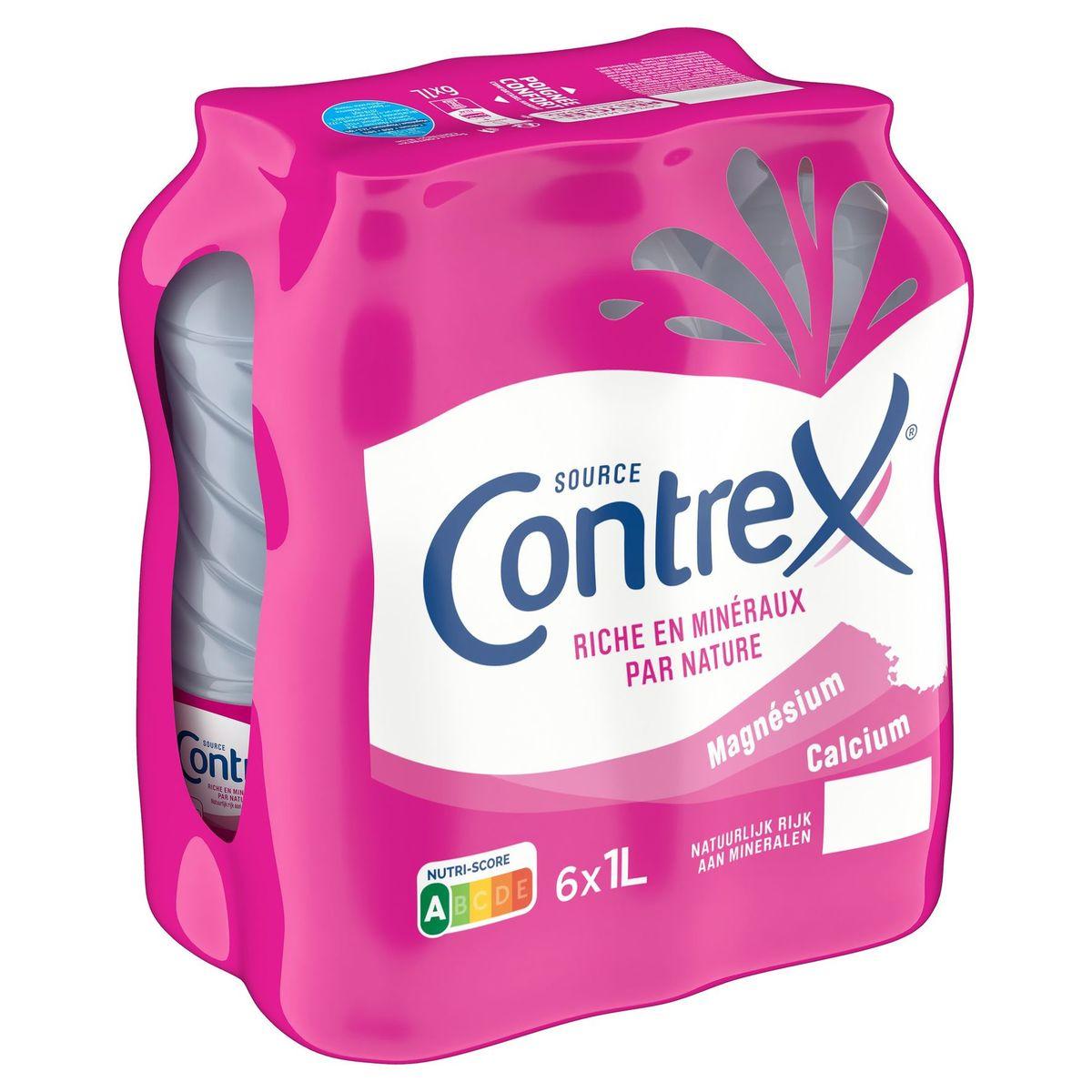 CONTREX® Eau Minérale Naturelle Plate 6 x 1 L