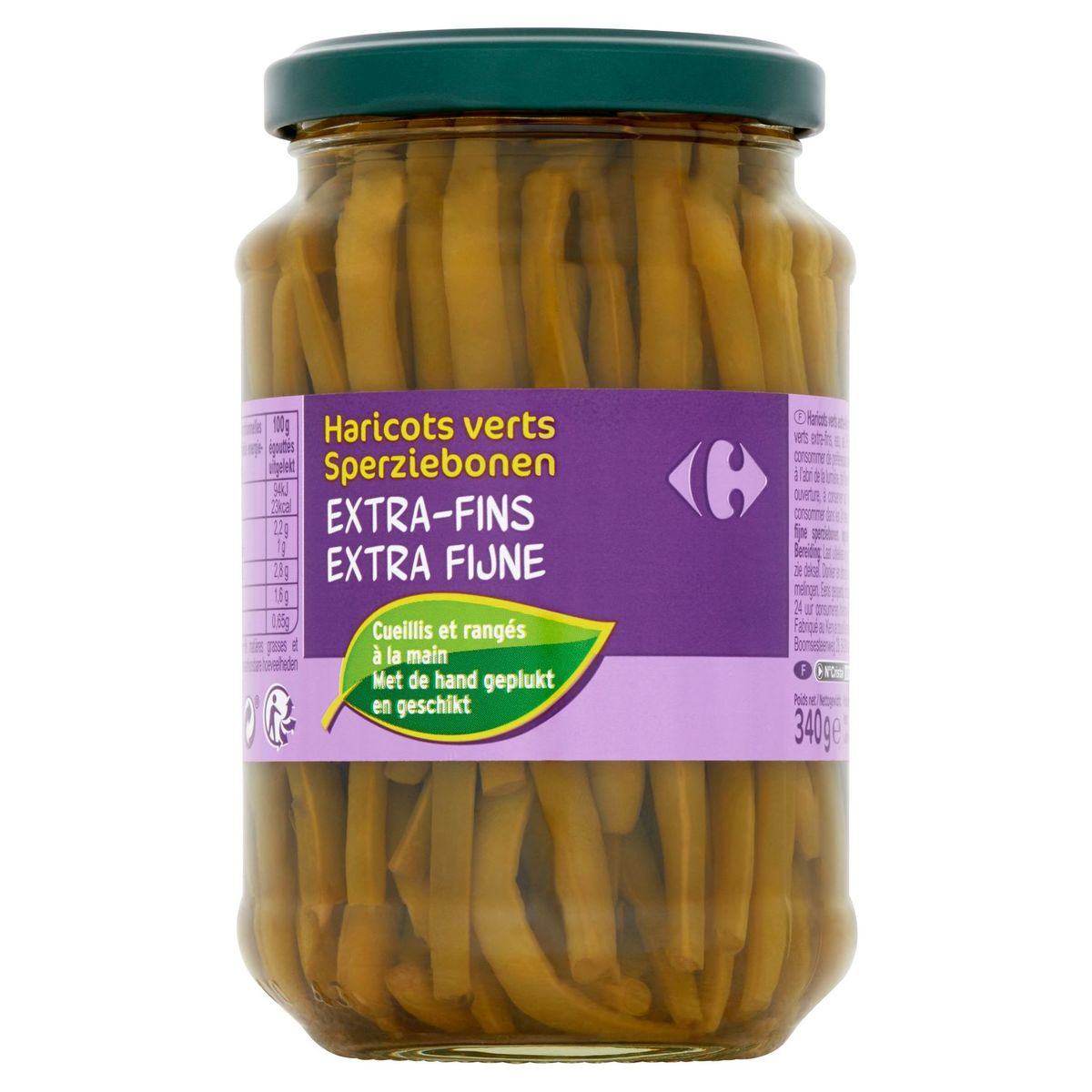 Carrefour Haricots Verts Extra-Fins 340 g