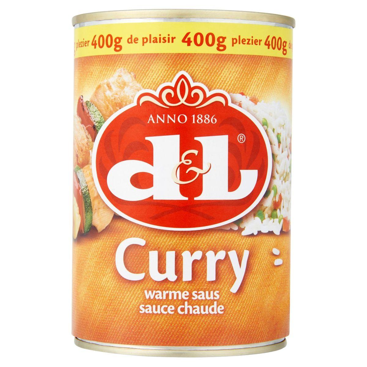 Devos Lemmens Curry Sauce Chaude 400 g