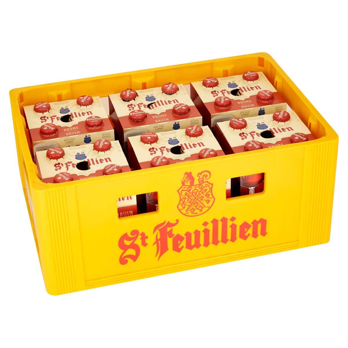 St Feuillien Bruin 6 x 4 x 33 cl