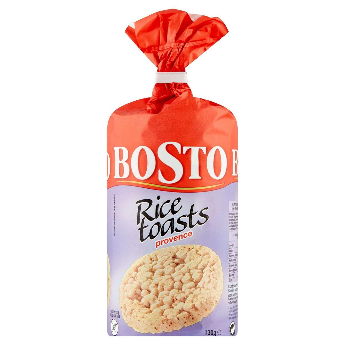 Bosto Rice Toasts Provence 130 g