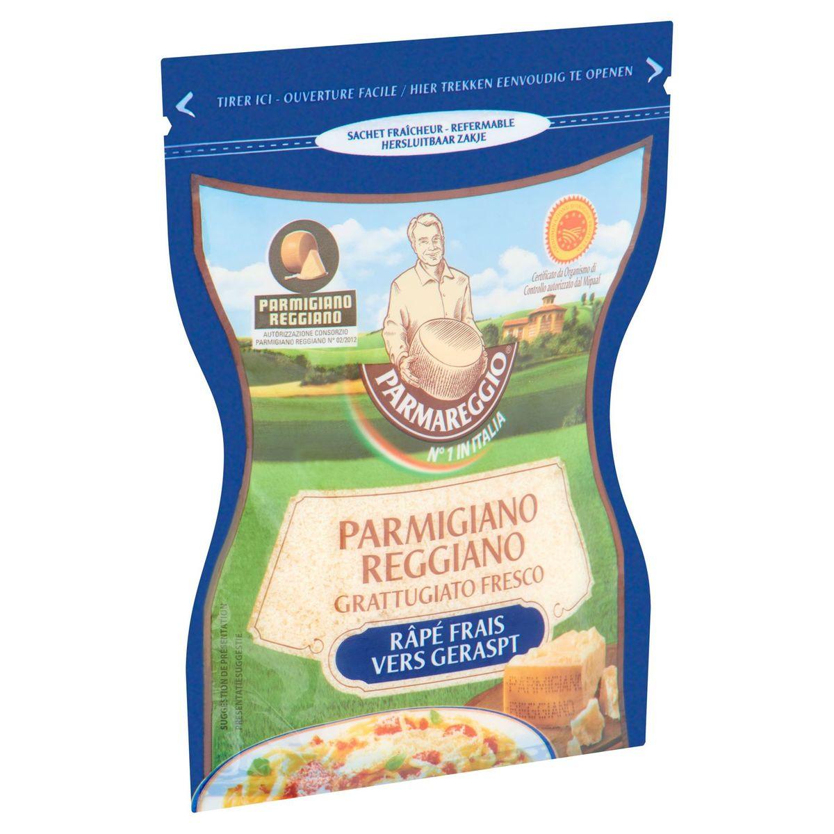 Parmareggio Parmigiano Reggiano Râpé Frais 60 g
