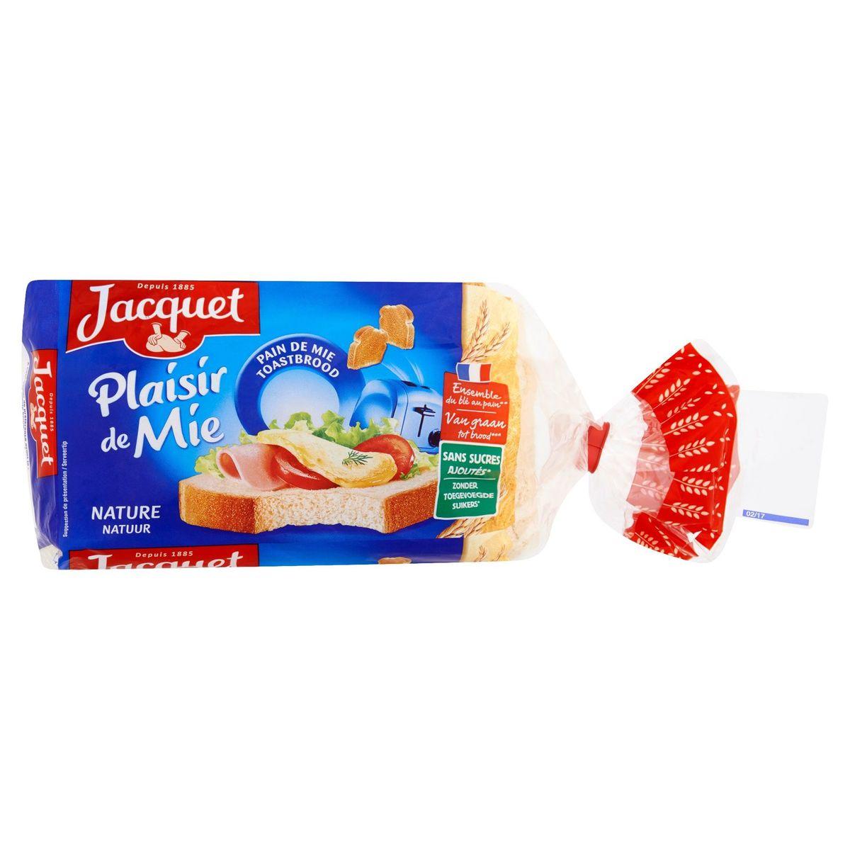 Jacquet Plaisir de Mie Nature 15 Pièces 280 g