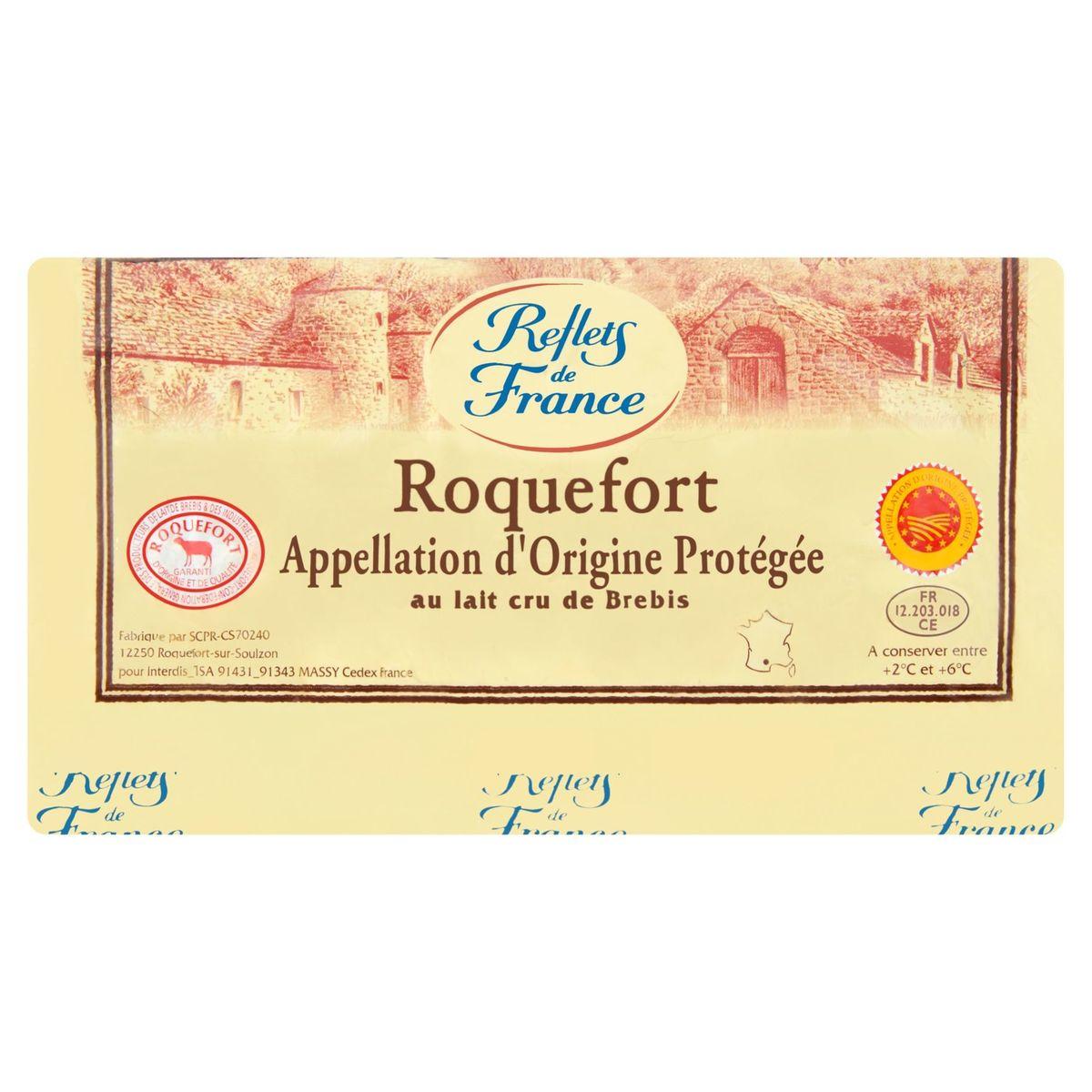 Reflets de France Roquefort au Lait Cru de Brebis 1.446 kg