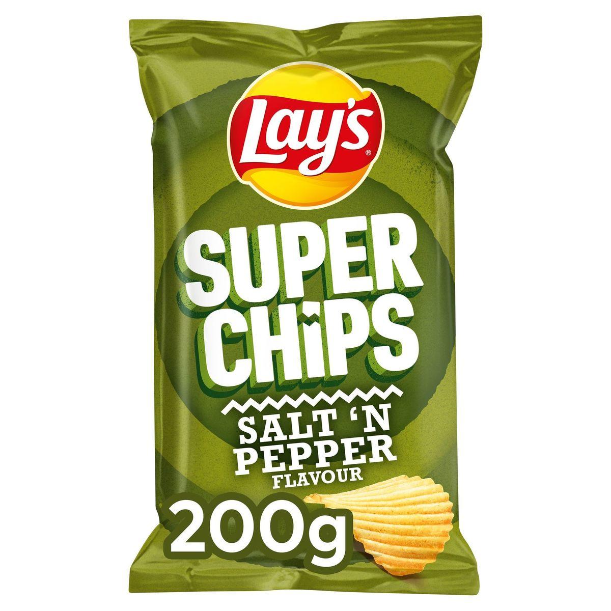 Lay's Superchips Poivre & Sel 200 gr