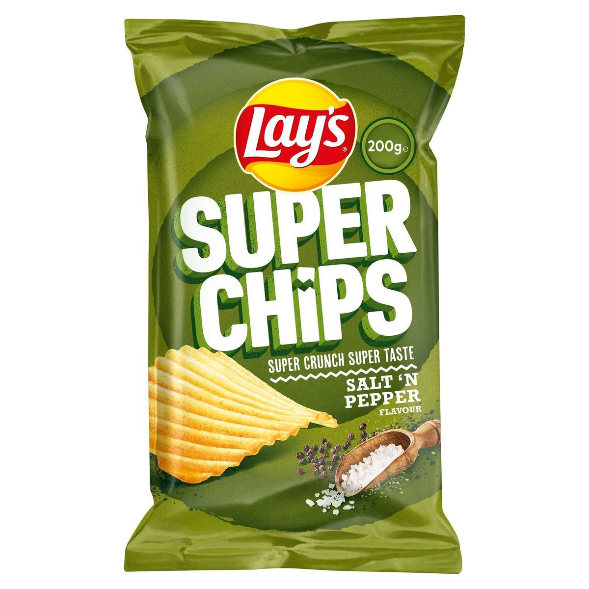 Lay's Superchips Peper & Zout 200 gr