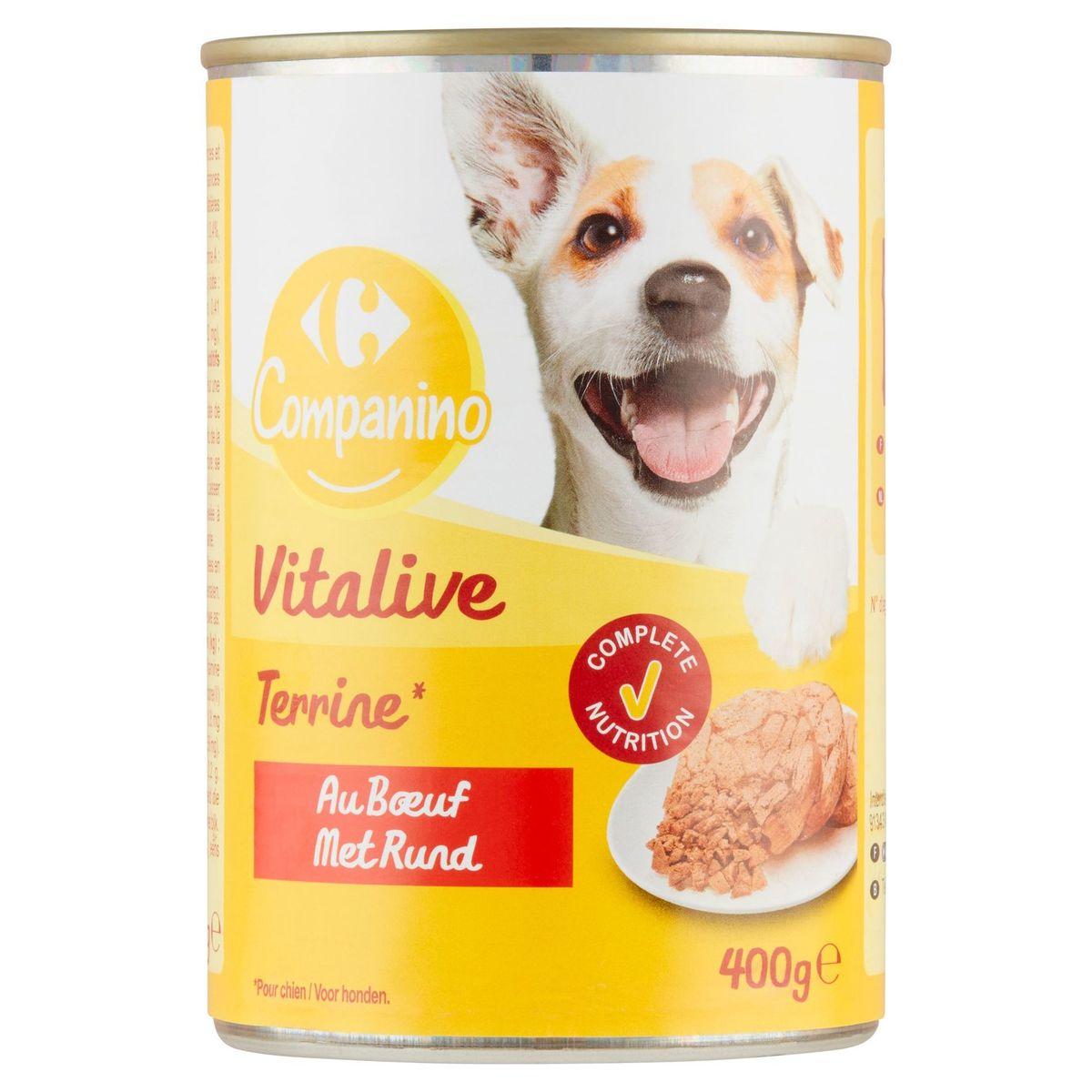 Carrefour Paté Rijk aan Rund 400 g
