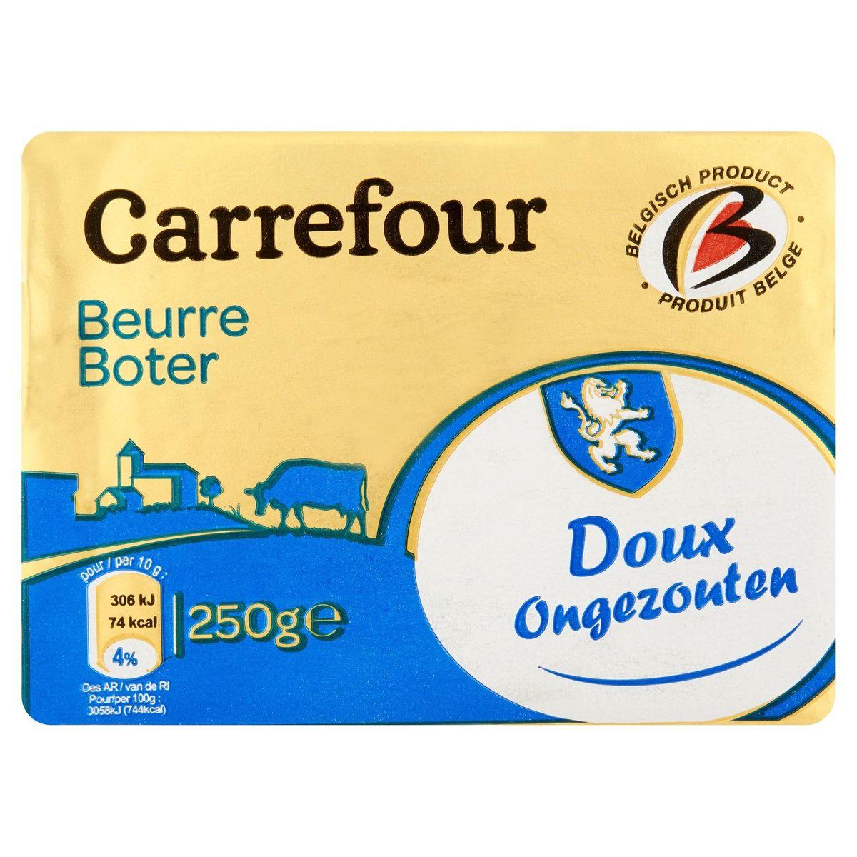 Carrefour Beurre Doux 250 g