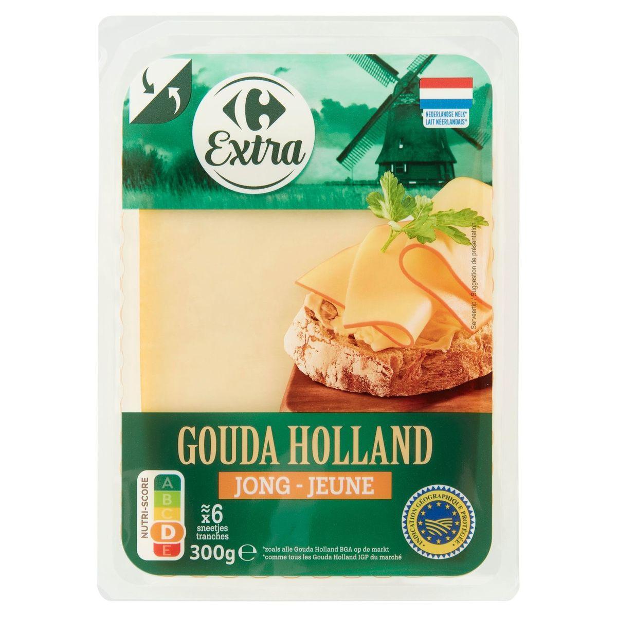 Carrefour Gouda Holland Jeune 300 g
