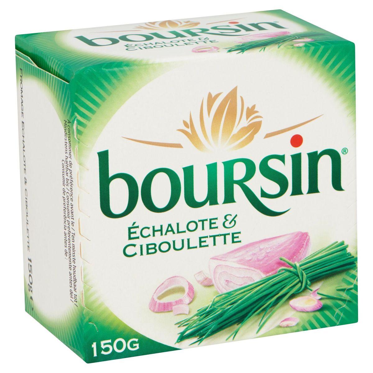 Boursin Échalote & Ciboulette 150 g