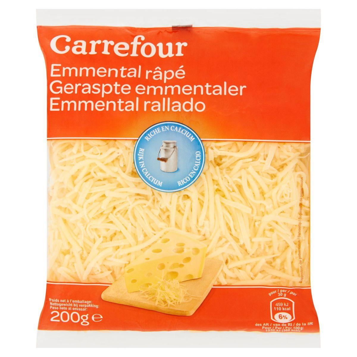 Carrefour Emmental Râpé 200 g