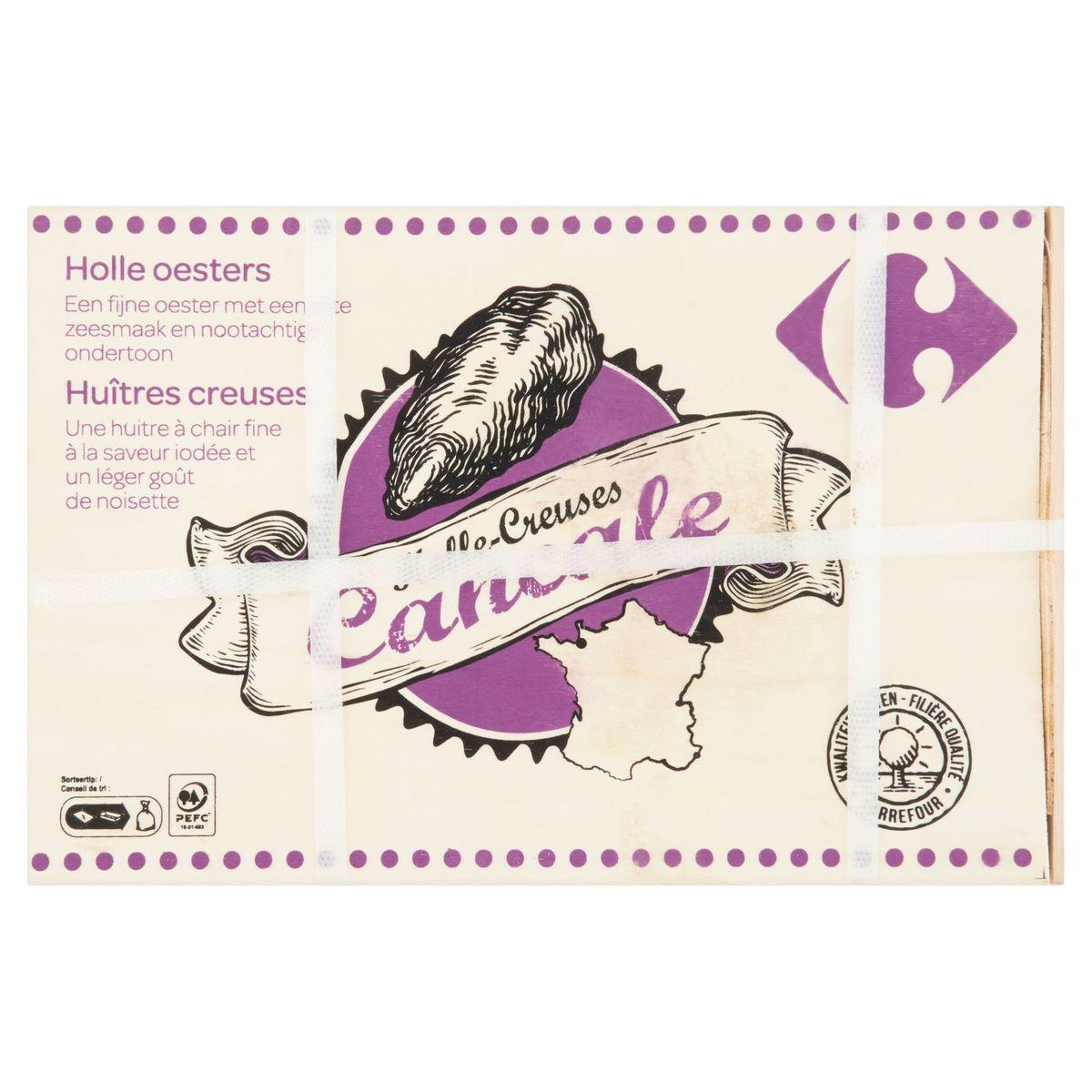 Carrefour Krystale Huîtres Creuses N2 12 Pcs