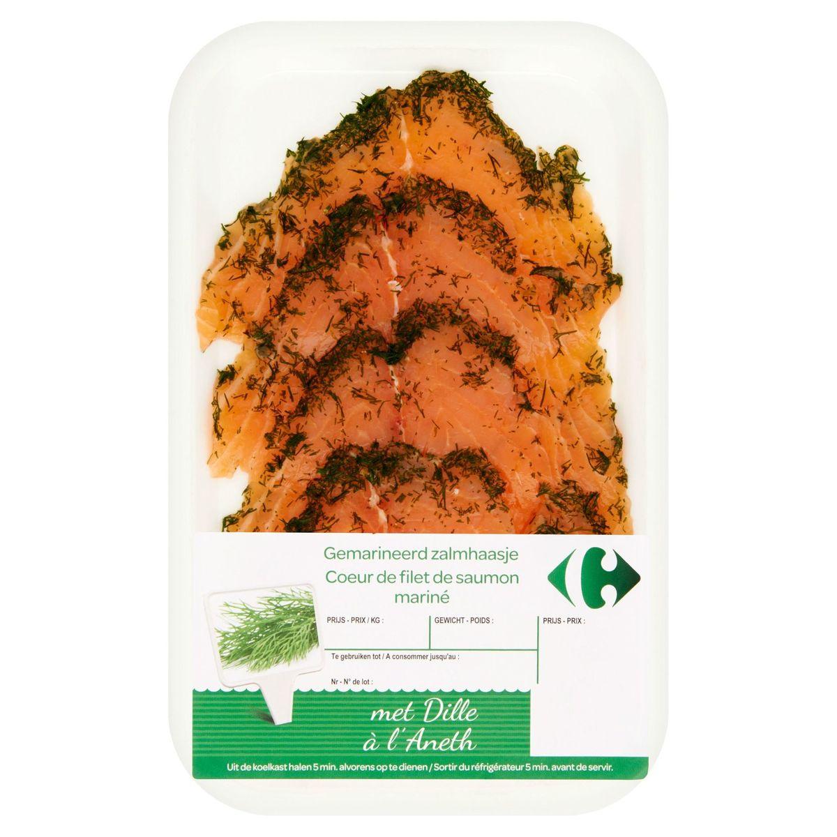 Carrefour FQC Traiteur de la Mer de Filet de Saumon à l'Aneth 0.12 kg