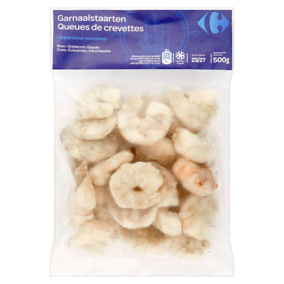Carrefour Garnaalstaarten 23/27 Stuks 500 g