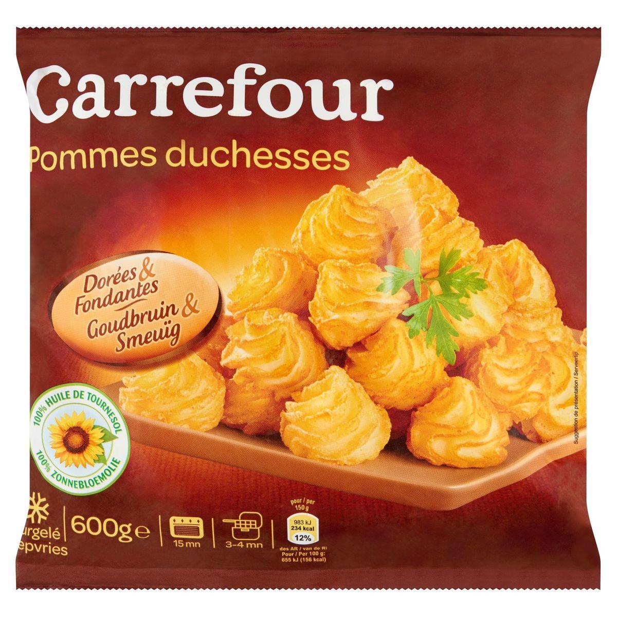 Carrefour Pommes Duchesses Goudbruin & Smeuïg 600 g