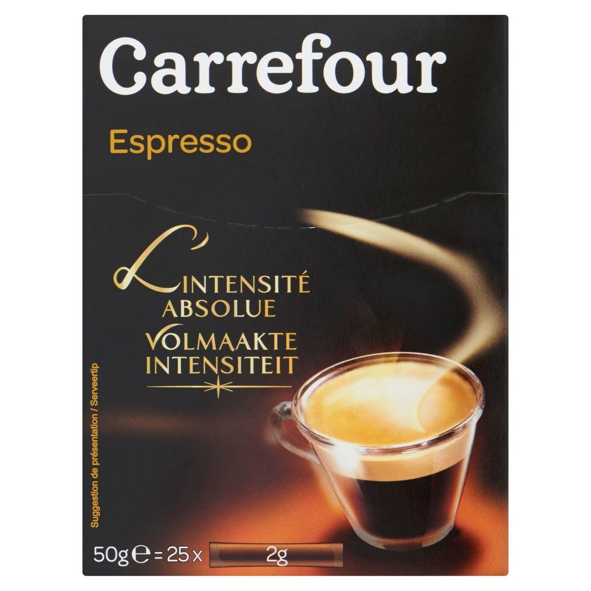 Carrefour Espresso l'Intensité Absolue 25 x 2 g