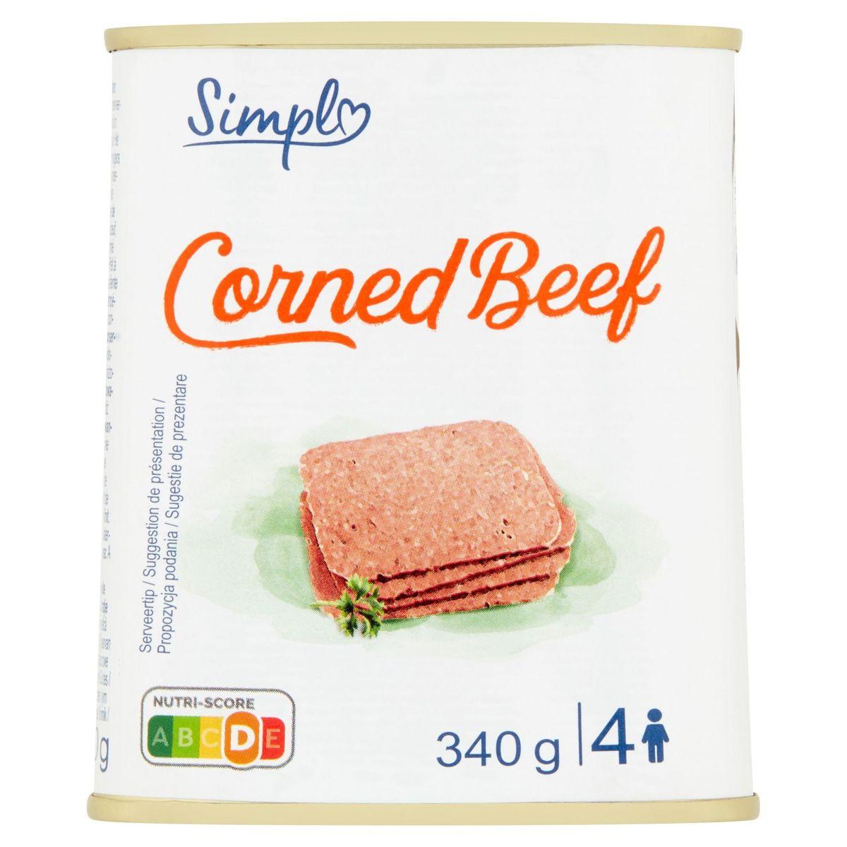 Simpl Corned Beef 340 g