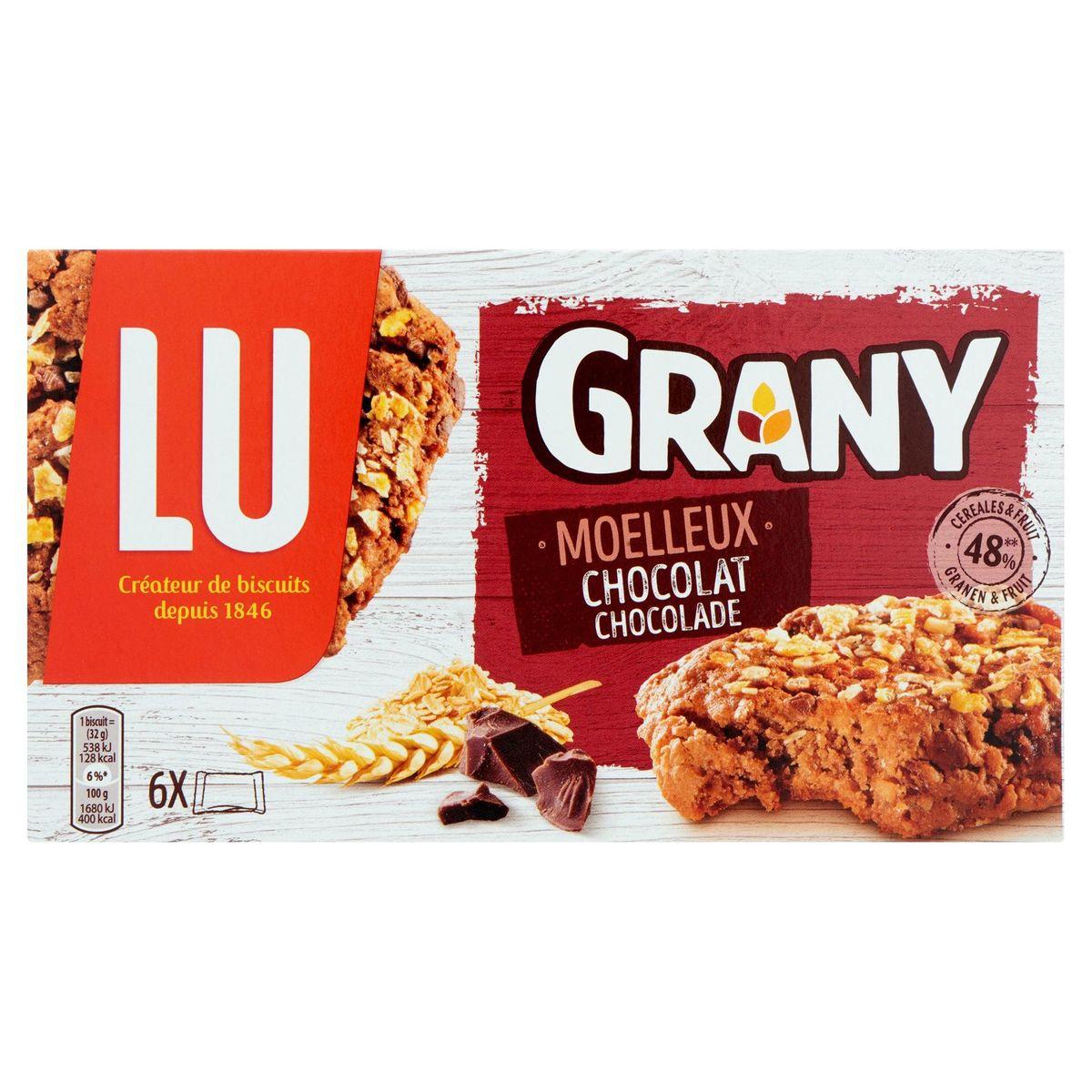 Lu Grany Moelleux Chocolat 192 g