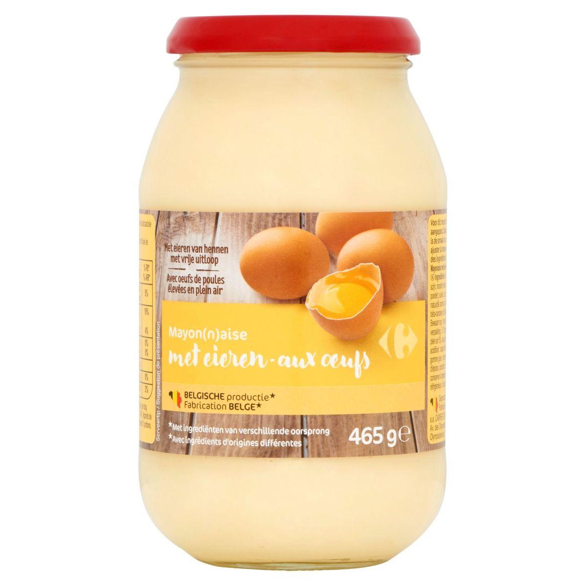 Carrefour Mayonnaise aux Oeufs 465 g