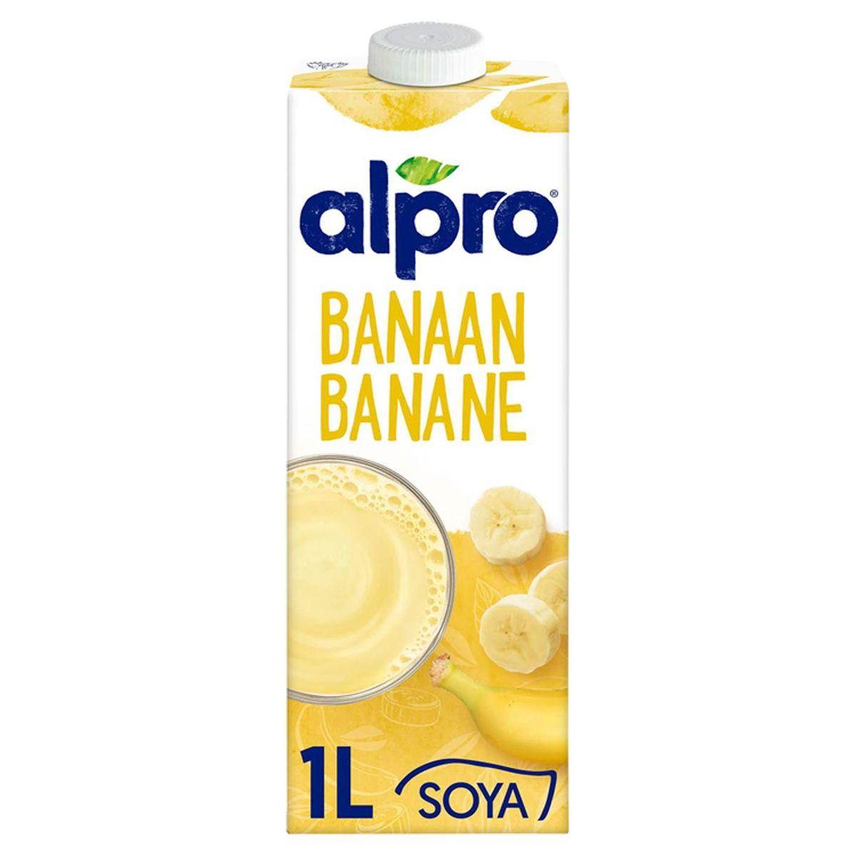 Alpro Banane Boisson à base de Soja 1 L