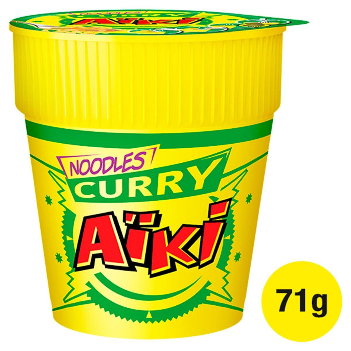 Aïki Noodles Curry 71 g