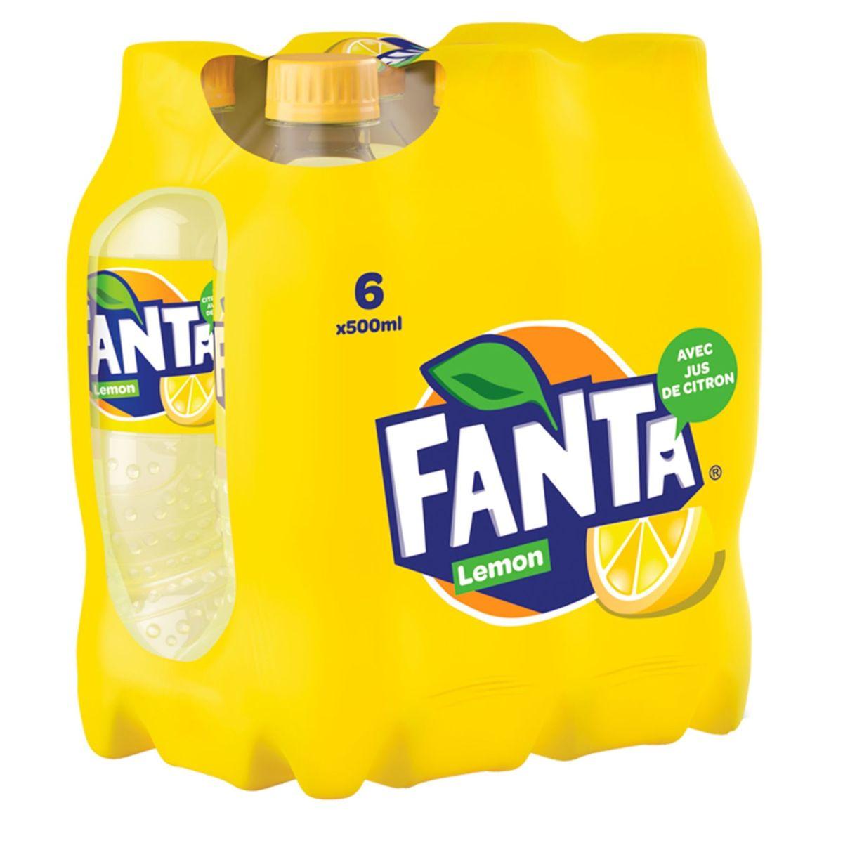 Fanta Lemon 6 x 500 ml