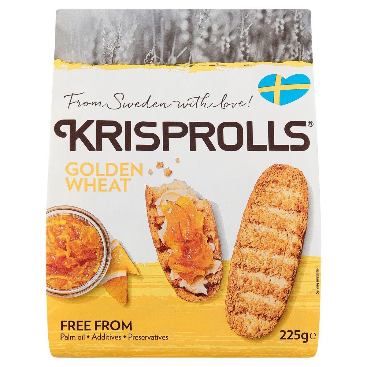 Krisprolls dorés 225gr