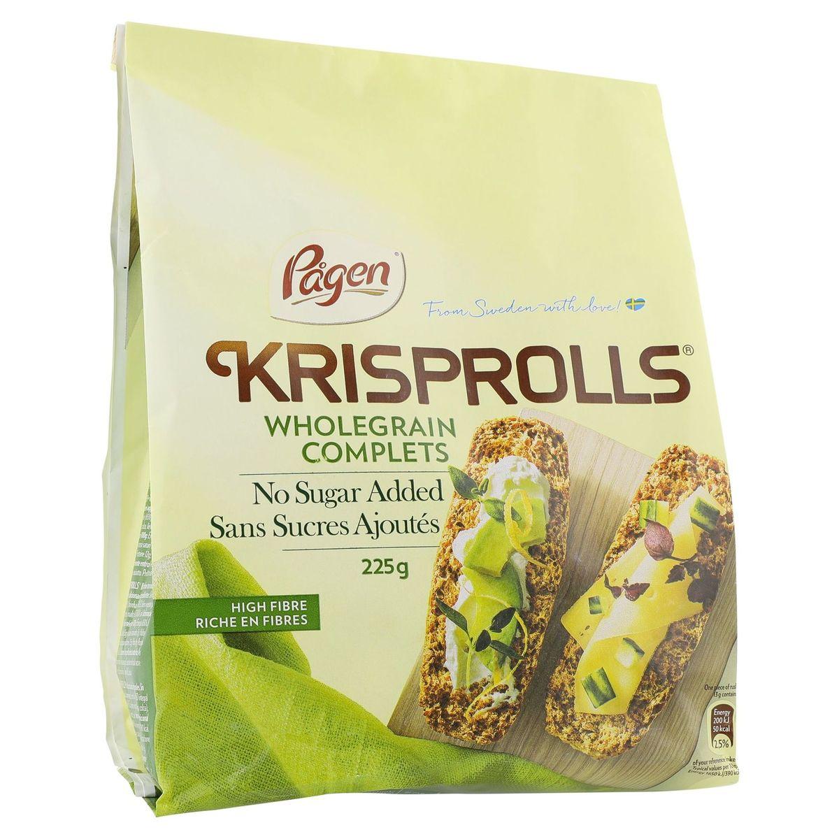 Krisprolls Pain Suédois Complet 225gr